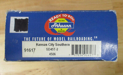 Athearn 91617 Kansas City Southern Sd45t 2  4506 Ho  Dcc Installed