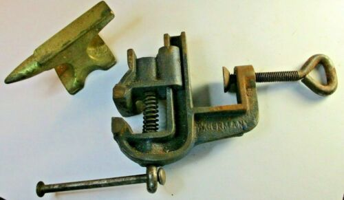 Jewelers Watch Maker Small Mini Anvil & Vise Made in Germany
