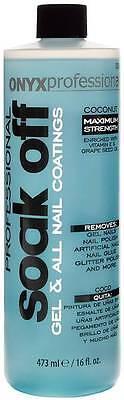 Onyx Professional Soak Off Nail Polish Remover 16oz | Removes All Polish & Nails