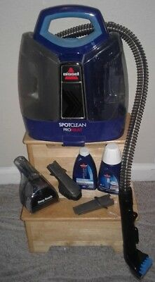 Bissell 5207f Spot Clean Pro Heat Portable Carpet Cleaner Shampoo Profession Rug
