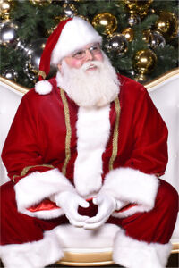SANTA CLAUS for hire with real beard