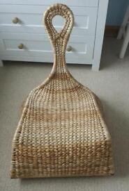 Wicker/rattan rocking seat/chair
