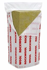 Rockwool Flexi Insulation Slab 50mm x 1.2m x 600mm Pack of 12 Covers 8.64 Sq M 4 Bags