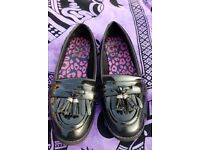 Girls Clark's school shoes 4f