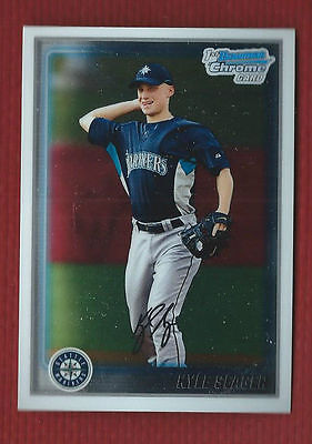 Kyle Seager  Bowman Chrome  Baseball Rookie Card