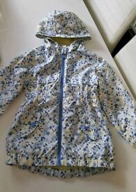 Girls rain jacket