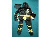 Child's Ninja Costume age 7-10