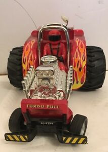 Vintage Radio Shack Turbo Pull - Tractor Pull - Wheelie Truck Remote Control R/C
