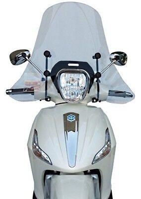 Windschutzscheibe Piaggio Beverly 125-300-350 RST Tourer Windschild Fabbri NEU