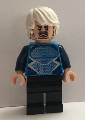 Lego Super Heroes Genuine Quicksilver  Minifigure Fig 76041 Avengers Age Ultron