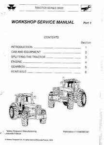 massey ferguson workshop manual | Gumtree Australia Free Local