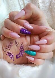Nail technitian, mobile nail extentions, mobile body waxing, gel nails, acrylic nails Leeds