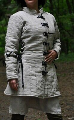 Female Medieval Clothing (Easter Sale Archer Women Gambeson Female Aketon Medieval Women Clothing Larp)