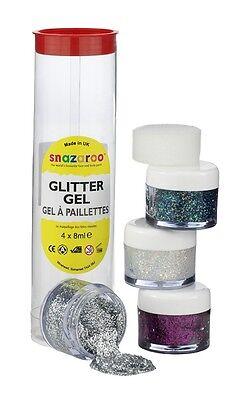 Snazaroo Glittergel Set A 1112950 Kinder Schminke Face Painting Glitzergel Aqua