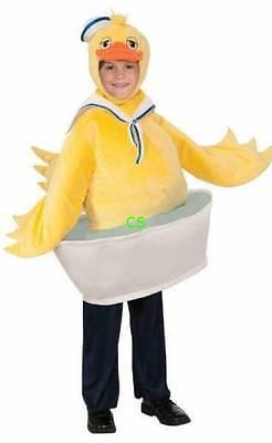 Nwt Rubies Kleinkind Jungen Gelb Gummiente in Tube Halloween Costume-Size 4/6
