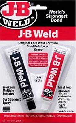 JB Weld Original Cold Weld Formula Steel Reinforced Epoxy 2 x 28.4g