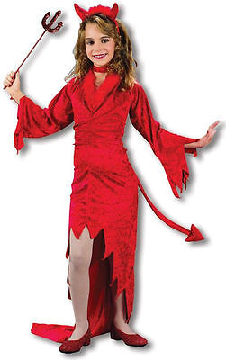 Child Friendly Devil girls Costume by Fun World Brand New 5867 on sale (Childrens Devil Costume)