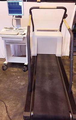 Ge Case P2 Stress Ekg Machine With T2000 Treadmill 6 Month Part Warranty