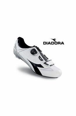 CHAUSSURES DE VÉLO DIADORA VORTEX-RACER II couleur BLANC-NOIR taille 42 7f6dc1c0354