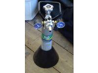 BARGAiN!!!!JBL ProFlora 502- Pressure reducer CO₂ - 1 Cilinder - 1 Pedestal - all original