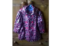 Girls Autograph Hooded Lined Coat