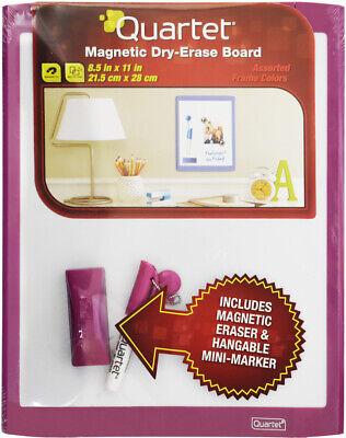 Quartet Magnetic Dry-erase Board 8.5 X 11 School Office Home - Pink
