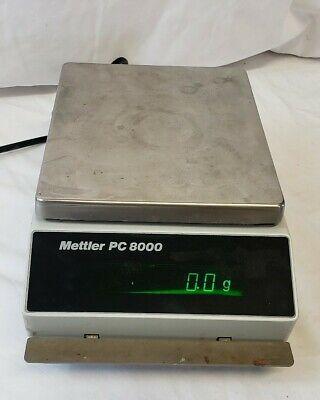 Mettler Toledo Analytical Balance Lab Scale Model Pc8000