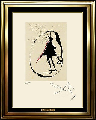 Salvador Dali Original Faust Etching Mephisto Authentic HAND SIGNED Surreal Art