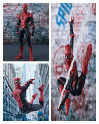 6/'/'S.H.Figuarts Spider-Man Homecoming Home Made PVC Suit Figure SHF Toys New