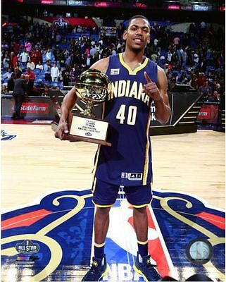 Glenn Robinson NBA Slam Dunk Contest Trophy 2017 NBA All-Star Game 8x10 - All Star Trophy