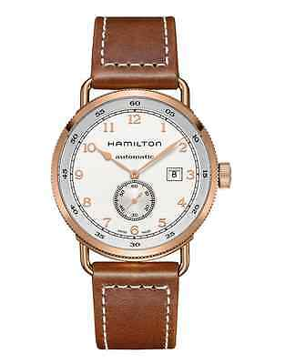 New Hamilton Khaki Navy Pioneer Silver Dial Automatic Men's Watch H77745553