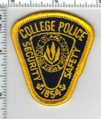 Rhode Island College Police Cap Patch - new
