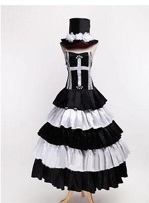 One Piece Ghost princess Perona New Long Dress - Perona Kostüm