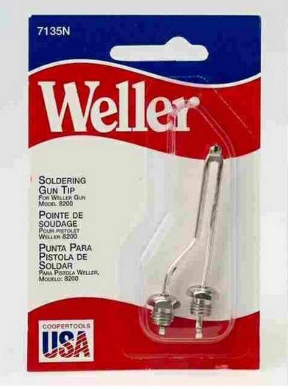 Weller Original  Soldering Tip 7135N With Nuts for 8200 Soldering Gun