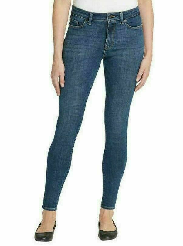Calvin Klein Jeans Mid-Rise Dark Wash Size 6- NWT Clothing, Shoes & Accessories
