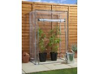 NEW Tomato Greenhouse with PVC Cover H150 x W100 x D50cm