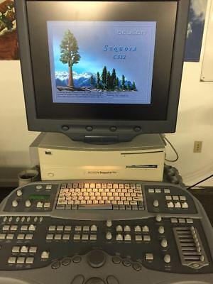 Siemens Acuson Sequoia C512 Ultrasound Machine
