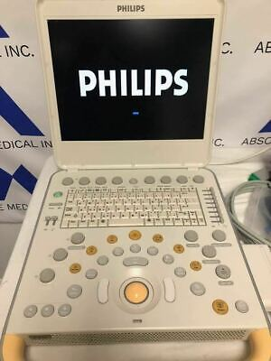 Philips Cx50 Portable Ultrasound Machine With C5-1 Ultrasound Probe Transducer
