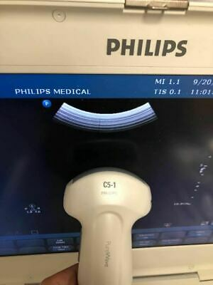 Philips C5-1 Ultrasound Transducer Probe For Cx50 Ultrasound Machine