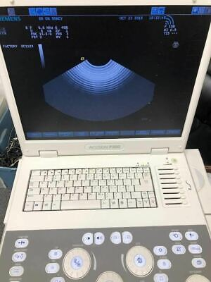 Siemens Acuson P300 Portable Ultrasound Machine Probes Available As Well