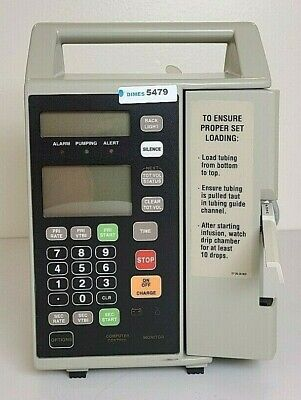 Baxter Flo-gard 6201 Infusion Pump Biomed Engineer Tested New Battery Inv 5479