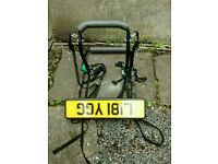 Bike bicycle rack carrier for up to 3 bikes