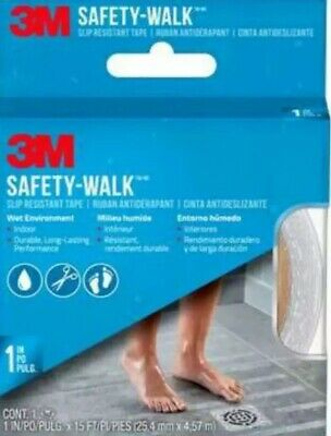 3M 7640 Safety-Walk Tub & Shower Tread Tape, 1 x 180