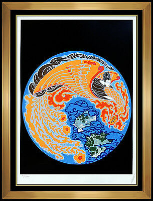 ERTE Original Color Serigraph Dream Voyage Set Design Signed Romain Tirtoff Art