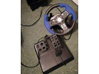 PlayStation driving wheel