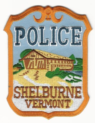 Shelburne Police State Vermont Covered Bridge patch NEAT!