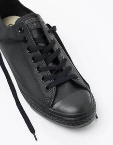 Black leather Converse, Size 11 womens, 9 mens Holmesville Lake Macquarie Area Preview