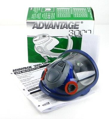 Msa Full Face Respirator Dual Cartridge Sz Small Bayonet Connection 10028996 2j
