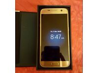 SAMSUNG S7 GOLD / UNLOCKED / 32 GB / VISIT MY SHOP /1 YEAR WARRANTY + RECEIPT