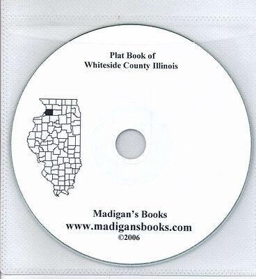 Whiteside Co Illinois IL plat book  genealogy Morrison land owners history